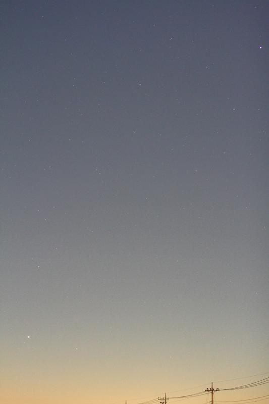 アイソン彗星とスピカと水星